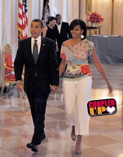 President Obama and 1st Lady Michelle